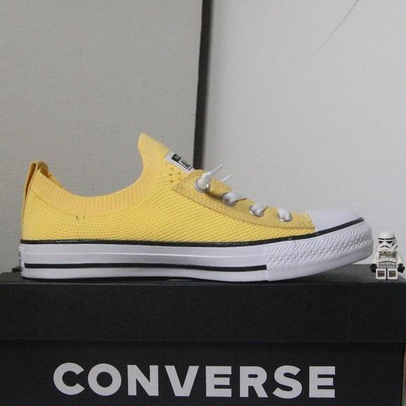 Converse Yellow All Star Shoreline Knit